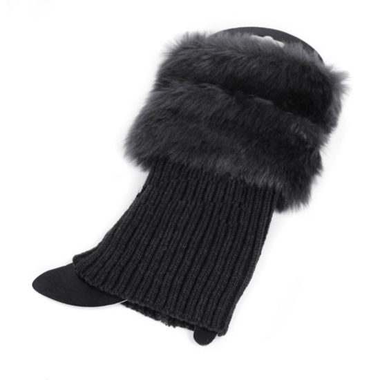 fur cuffs for boots