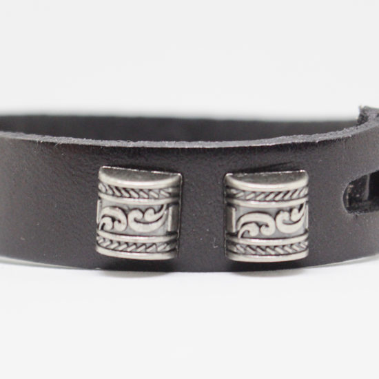Pretty leather bracelets